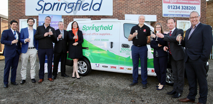 Van-Tastic 2019 winners Springfield Business Supplies